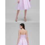 Australia-Cocktail-Party-Dress-Blushing-Pink-A-line-Strapless-Short-Knee-length-Lace5402425c54663508