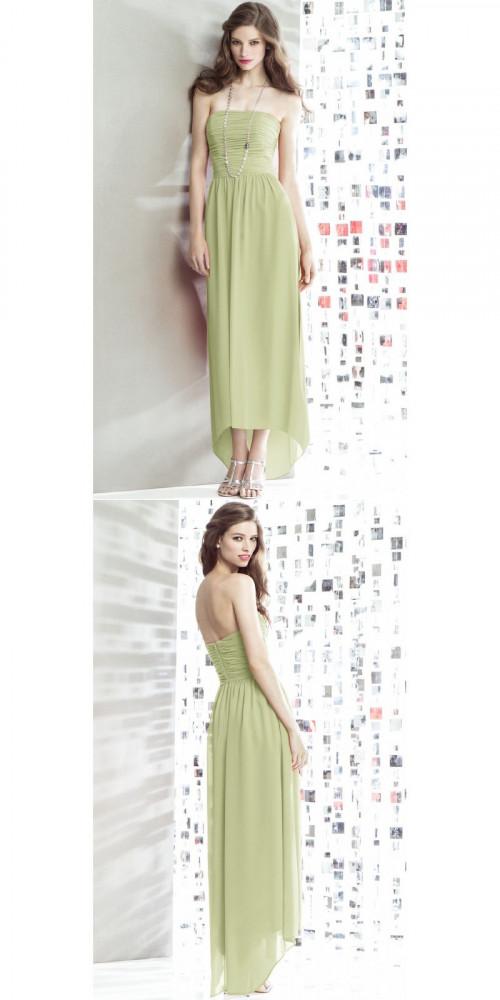 Bridesmaid Dresses - Ankle-length Chiffon Zipper A-line Bridesmaid Dresses Nz https://www.udressme.co.nz/