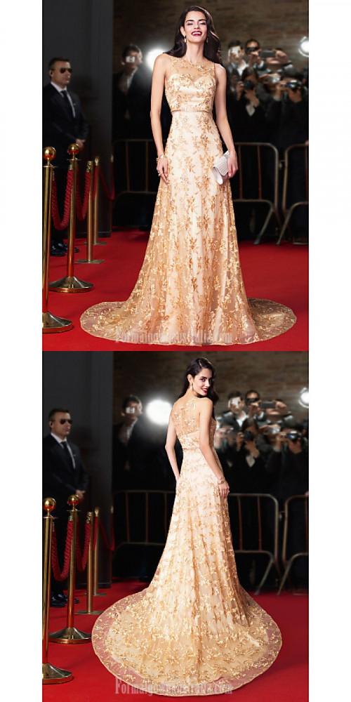 Australia-Formal-Evening-Dress-Gold-A-line-Jewel-Chapel-Train-Lacebaa379eb0b67eb43.jpg