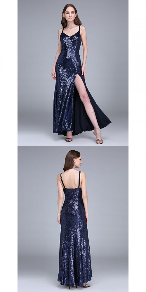 Bridesmaid-Dresses---Ankle-length-Sequined-Bridesmaid-Dress-Sheath-Column-Spaghetti-Straps-with-Split-Front18f4235bf654b04e.jpg