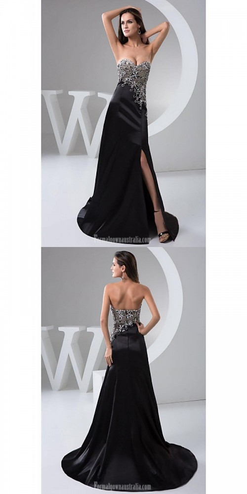 Australia-Formal-Evening-Dress-Black-Petite-A-line-Sweetheart-Long-Floor-length-Chiffon2132e1f3664538fc.jpg